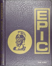 1973 Edition, Alexandria High School - Epic Yearbook (Alexandria, LA)