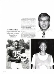Page 10, 1987 Edition, Alexandria High School - Epic Yearbook (Alexandria, LA) online yearbook collection
