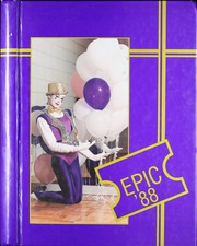 1988 Edition, Alexandria High School - Epic Yearbook (Alexandria, LA)