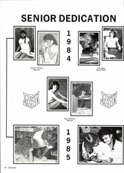 Acadiana High School - Les Memoires Yearbook (Lafayette, LA) online yearbook collection, 1985 Edition, Page 196