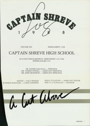 Page 5, 1988 Edition, Captain Shreve High School - Log Yearbook (Shreveport, LA) online yearbook collection
