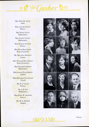 Page 15, 1933 Edition, C E Byrd High School - Gusher Yearbook (Shreveport, LA) online yearbook collection