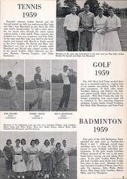 Page 421, 1959 Edition, C E Byrd High School - Gusher Yearbook (Shreveport, LA) online yearbook collection
