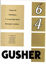 Page 5, 1964 Edition, C E Byrd High School - Gusher Yearbook (Shreveport, LA) online yearbook collection