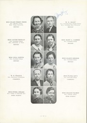 Page 14, 1937 Edition, Bolton High School - Bruin Yearbook (Alexandria, LA) online yearbook collection