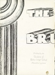 Page 4, 1937 Edition, Bolton High School - Bruin Yearbook (Alexandria, LA) online yearbook collection