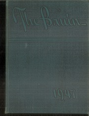 Page 1, 1947 Edition, Bolton High School - Bruin Yearbook (Alexandria, LA) online yearbook collection