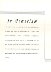 Page 10, 1947 Edition, Bolton High School - Bruin Yearbook (Alexandria, LA) online yearbook collection