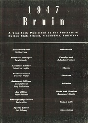 Page 5, 1947 Edition, Bolton High School - Bruin Yearbook (Alexandria, LA) online yearbook collection