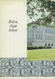 Page 12, 1957 Edition, Bolton High School - Bruin Yearbook (Alexandria, LA) online yearbook collection