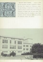 Page 15, 1957 Edition, Bolton High School - Bruin Yearbook (Alexandria, LA) online yearbook collection