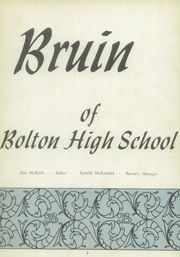 Page 7, 1957 Edition, Bolton High School - Bruin Yearbook (Alexandria, LA) online yearbook collection
