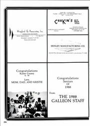 Page 290, 1988 Edition, Huntington High School - Galleon Yearbook (Shreveport, LA) online yearbook collection