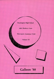Page 5, 1988 Edition, Huntington High School - Galleon Yearbook (Shreveport, LA) online yearbook collection