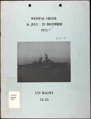 Page 1, 1975 Edition, Halsey (CG 23) - Naval Cruise Book online yearbook collection