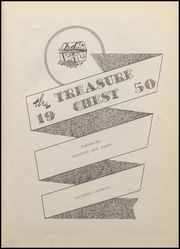 Page 7, 1950 Edition, Haughton High School - Treasure Chest Yearbook (Haughton, LA) online yearbook collection