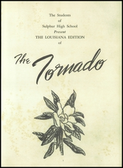 Page 5, 1954 Edition, Sulphur High School - Tornado Yearbook (Sulphur, LA) online yearbook collection