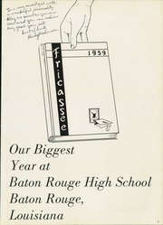 Page 5, 1959 Edition, Baton Rouge High School - Fricassee Yearbook (Baton Rouge, LA) online yearbook collection