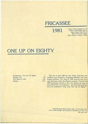Page 4, 1981 Edition, Baton Rouge High School - Fricassee Yearbook (Baton Rouge, LA) online yearbook collection