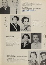 Page 13, 1955 Edition, Leesville High School - Silhouettes Yearbook (Leesville, LA) online yearbook collection
