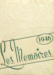 Page 1, 1946 Edition, Bossier High School - Les Memoires Yearbook (Bossier City, LA) online yearbook collection