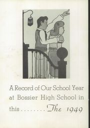 Page 6, 1949 Edition, Bossier High School - Les Memoires Yearbook (Bossier City, LA) online yearbook collection