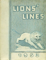 1953 Edition, Covington High School - Lions Lines Yearbook (Covington, LA)