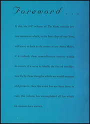 Page 7, 1957 Edition, Bastrop High School - Ram Yearbook (Bastrop, LA) online yearbook collection