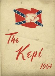 1954 Edition, Pineville High School - Kepi Yearbook (Pineville, LA)
