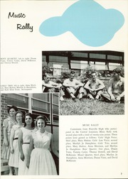 Page 11, 1962 Edition, Pineville High School - Kepi Yearbook (Pineville, LA) online yearbook collection