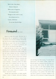 Page 8, 1962 Edition, Pineville High School - Kepi Yearbook (Pineville, LA) online yearbook collection