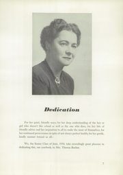 Page 11, 1950 Edition, Andrew Jackson High School - Hermitage Yearbook (Chalmette, LA) online yearbook collection