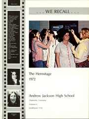 Page 5, 1972 Edition, Andrew Jackson High School - Hermitage Yearbook (Chalmette, LA) online yearbook collection