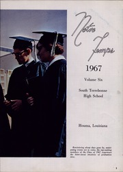 Page 7, 1969 Edition, South Terrebonne High School - Notre Temps Yearbook (Bourg, LA) online yearbook collection