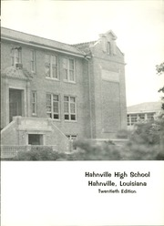 Page 7, 1967 Edition, Hahnville High School - Roar Yearbook (Boutte, LA) online yearbook collection