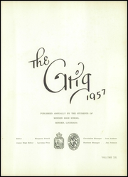Page 5, 1957 Edition, Minden High School - Grig Yearbook (Minden, LA) online yearbook collection