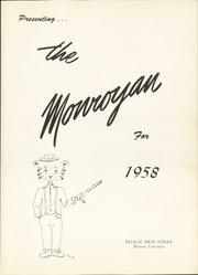 Page 5, 1958 Edition, Neville High School - Monroyan Yearbook (Monroe, LA) online yearbook collection