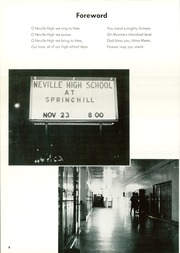 Page 10, 1963 Edition, Neville High School - Monroyan Yearbook (Monroe, LA) online yearbook collection