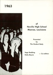 Page 7, 1963 Edition, Neville High School - Monroyan Yearbook (Monroe, LA) online yearbook collection