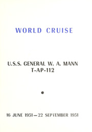 Page 5, 1951 Edition, General Mann (TAP 112) - Naval Cruise Book online yearbook collection