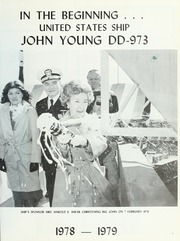 Page 5, 1979 Edition, John Young (DD 973) - Naval Cruise Book online yearbook collection
