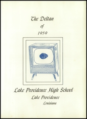 Page 5, 1959 Edition, Lake Providence High School - Deltan Yearbook (Lake Providence, LA) online yearbook collection