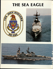 Page 12, 1987 Edition, John Rodgers (DD 983) - Naval Cruise Book online yearbook collection