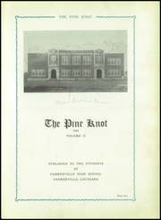 Page 9, 1929 Edition, Farmerville High School - Pine Knot Yearbook (Farmerville, LA) online yearbook collection
