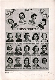 Page 11, 1940 Edition, Rabouin High School - Rab Jab Yearbook (New Orleans, LA) online yearbook collection