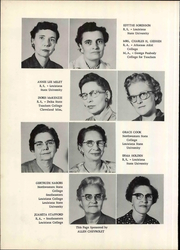 Page 14, 1959 Edition, Live Oak High School - Eaglet Yearbook (Watson, LA) online yearbook collection