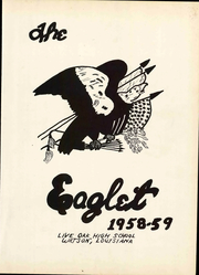 Page 7, 1959 Edition, Live Oak High School - Eaglet Yearbook (Watson, LA) online yearbook collection