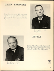Page 17, 1971 Edition, Josephus Daniels (DLG 27) - Naval Cruise Book online yearbook collection