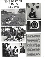 Page 7, 1986 Edition, Clinton High School - Eagles Nest Yearbook (Clinton, LA) online yearbook collection