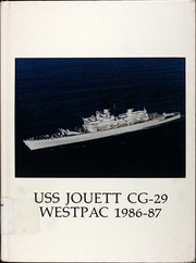 1987 Edition, Jouett (CG 29) - Naval Cruise Book